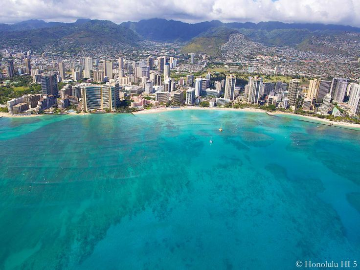 Waikiki in Honolulu, Hawaii. Paradise! Check out more spectacular pics and  videos here