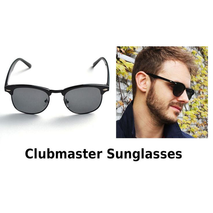 Clubmaster Sunglasses !  http://mymenfashion.com/zonnebril-sunglasses-clubmaster.html