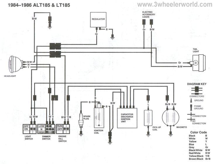 4 Wire Ignition Switch Diagram Atv Elegant Fantastic