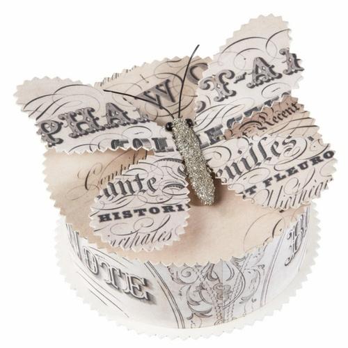 butterfly boxArt Alt, Butterflies Stuff, Butterflies Boxes, Art Journals, Christmas, Crafts Winter, Paper Boxes, Paper Ideas, Paper Crafts
