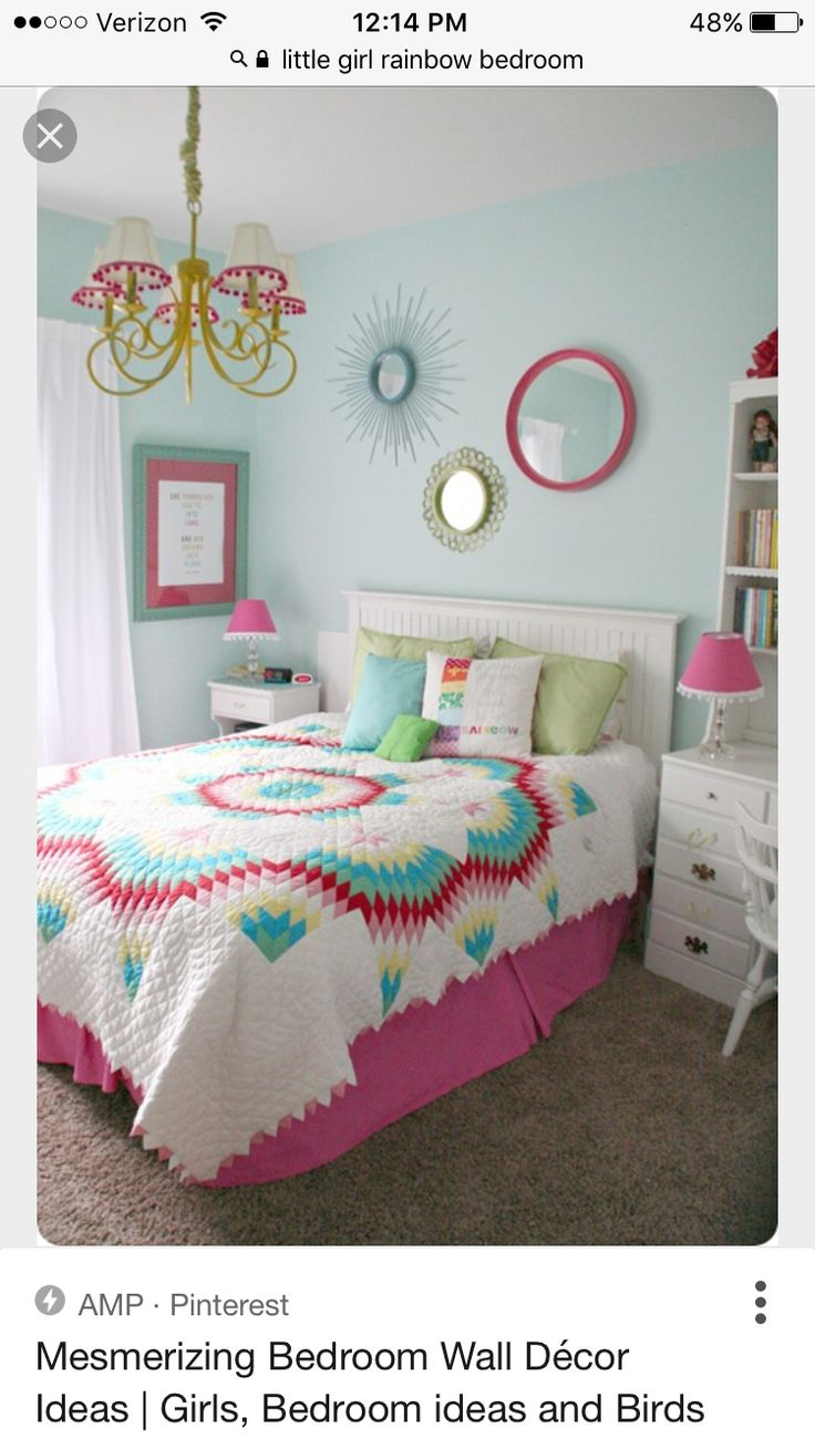 Home Sweet Home on a Budget: Girls' Bedrooms and a Linkup