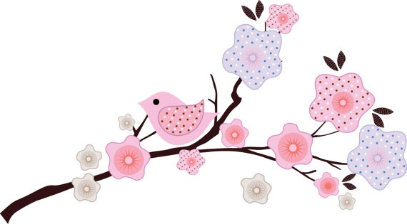 Migi Blossom  Wall DecalKids Trees, Branches Vinyls, Blossoms Beds, Trees Branches, Tree Branches, Baby Girls, Vinyls Wall Decals, Migi Blossoms, Vinyl Wall Decals
