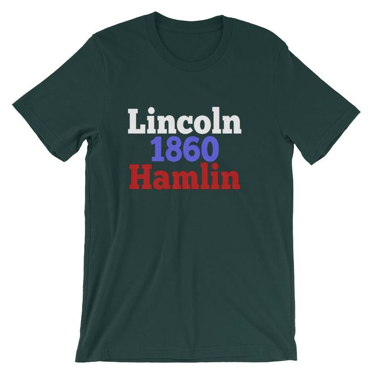 Excited to share the latest addition to my #etsy shop: Historical Election Shirt for Teachers, Abraham Lincoln & Hannibal Hamlin, Teacher Appreciation, American History, History Buff Gift http://etsy.me/2Dfpnad #clothing #shirt #abrahamlincoln #abelincoln #presidentsday #fourthofjuly #independenceday #memorialday #historynerd