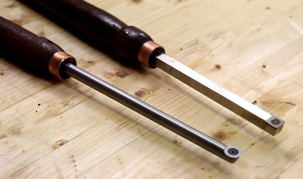 Make your own carbide lathe tools