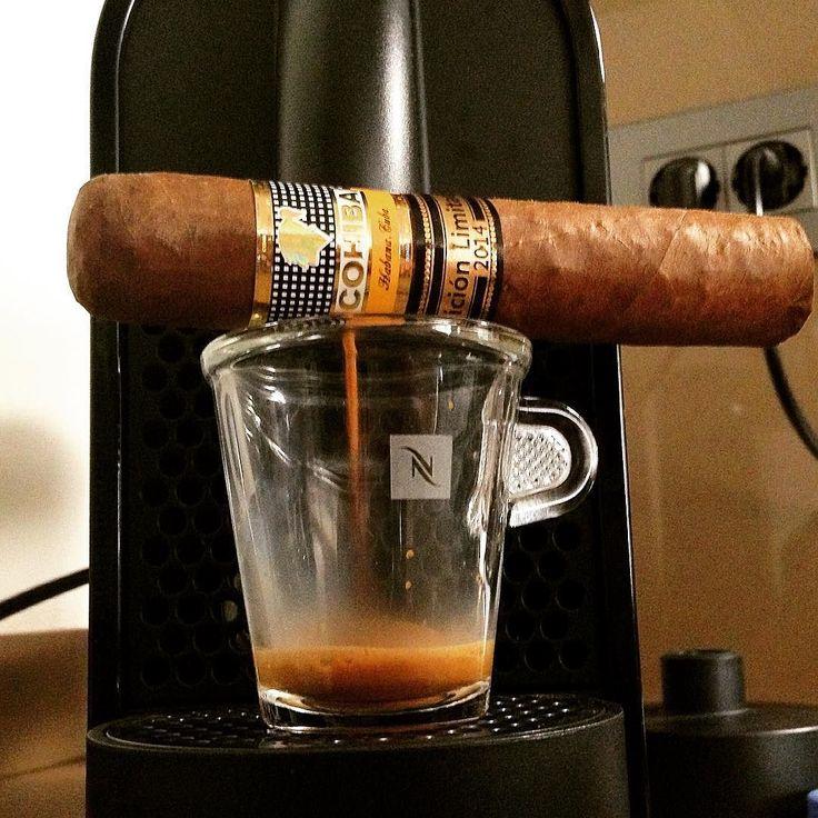 Cohiba + Nespresso