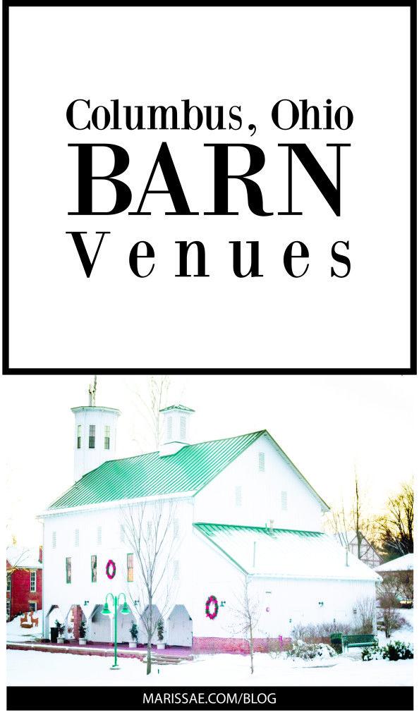 Columbus, Ohio Barn Wedding Venues // www.marissae.com