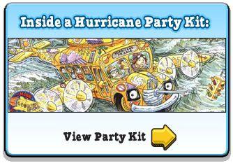 Love! Magic School Bus Hurricane Party