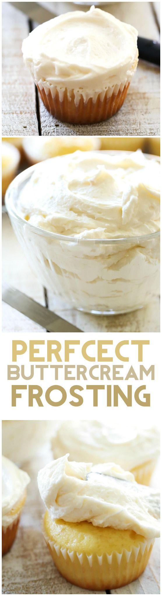Classic Buttercream Frosting Recipe