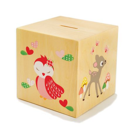 Girls Money Box  from cocooncouture.com