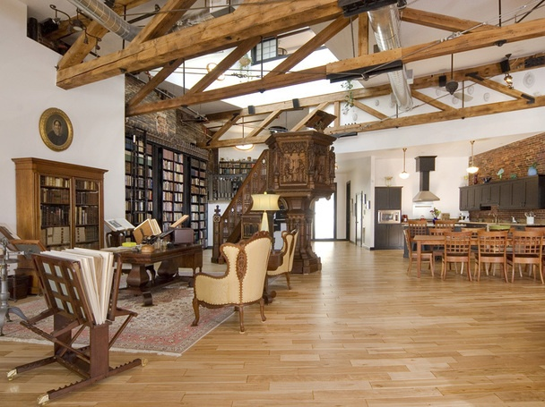Extraordinary Industrial Loft Apartments Exposed Brick