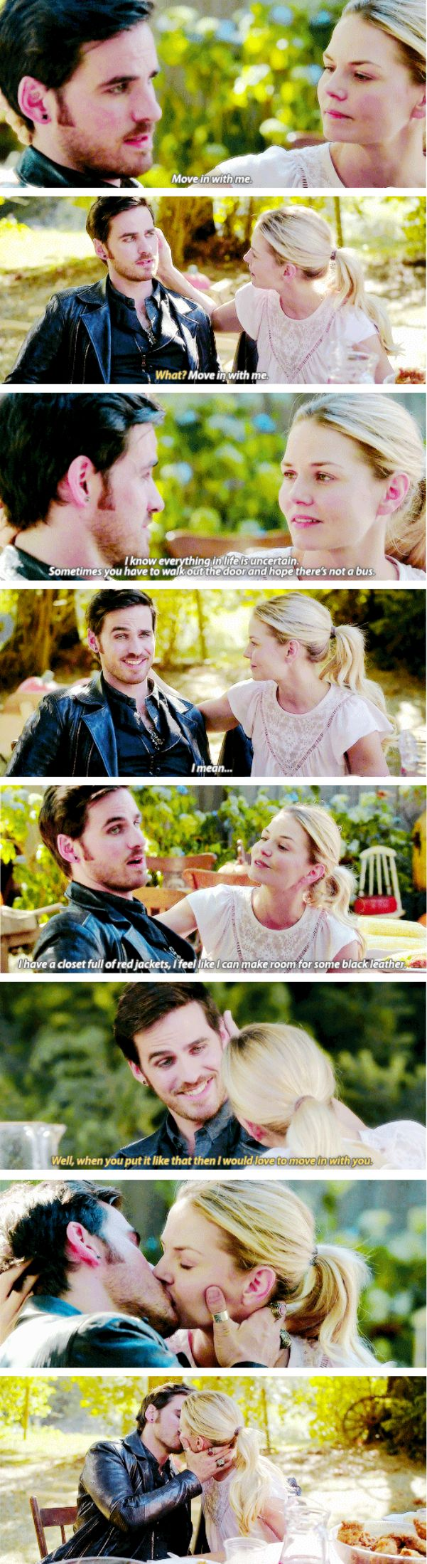 "Emma Swan and Killian Jones - 6 * 3 ""The Other Shoe"" #CaptainSwan                                                                                                                                                                                 More"