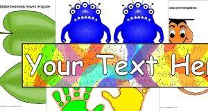 Szerkeszthető Elsődleges Oktatási erőforrások - Flash kártyák, címkék, plakátok és tantermi kijelző források - SparkleBox