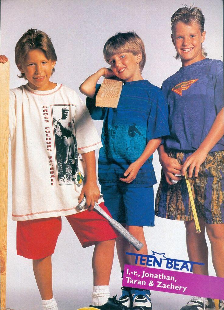 """The """"Home Improvement"""" boys from left- Jonathan Taylor Thomas, Taran Noah Smith, and Zachary Ty Bryan."""