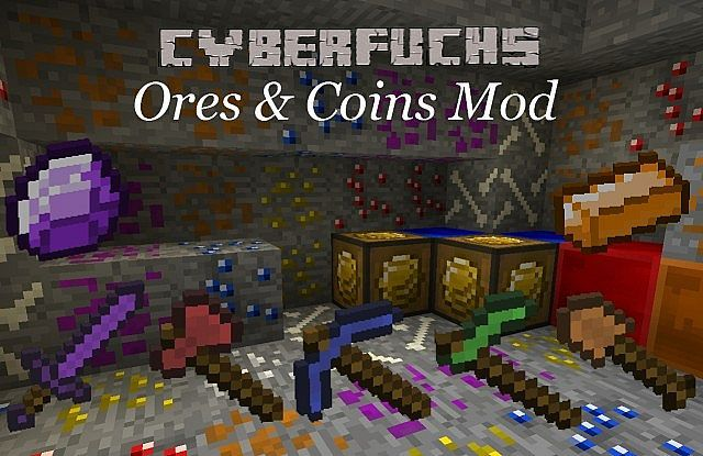 Minecraft download mods Ores and Coins 1.6.2 – Minecraft Download For Free