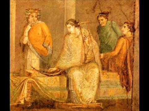 Music from Ancient Rome part I  Synaulia is a team of musicians, archeologists, paleorganologists and choreographers dedicated to the application of their historical research to ancient music and dance, in particular to the ancient Etruscan and Roman periods.