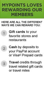 mypoints.com allows you to trade, buy, or exchange frequetn flyer miles. You can also buy gift cards for mileage points! Europe here I come! =)