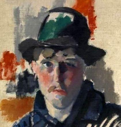 Rik Wouters - Zelfportret met de groene hoed (1915)