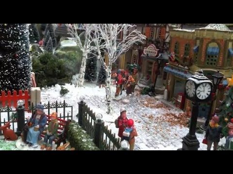 508 best Nutcrakers and Christmas Villages images on Pinterest - christmas town decorations