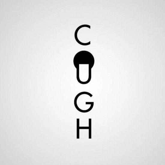 Cough!: Graphic Design, Cough, Creative Logo, Logo Design, Ji Lee, Logos Design, Image, Word, Typography