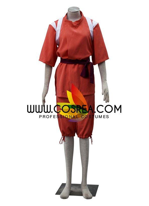 Spirited Away Chihiro Cosplay Costume