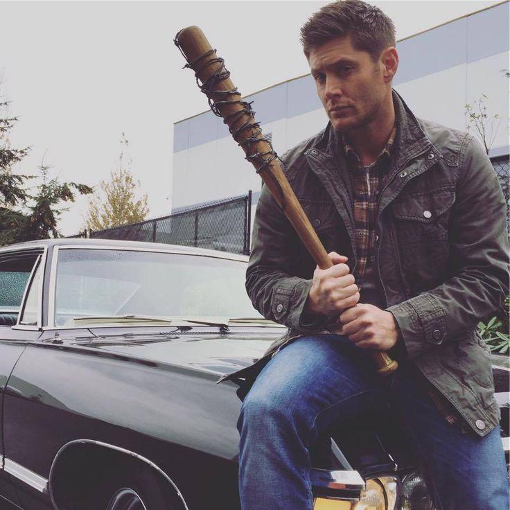Jeffrey Dean Morgan, Jensen Ackles trade jokes in Walking Dead-Supernatural tweet crossover