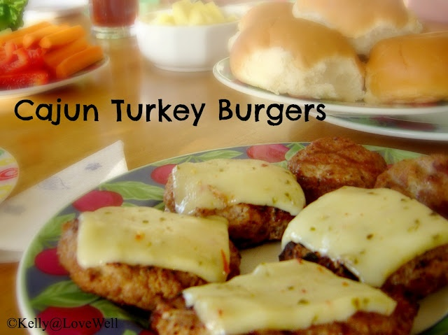 Cajun turkey burgers. I've been making these for 20 years, and they are still one of my favorite summer recipes.