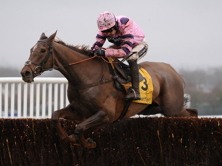 Silviniaco Conti was an impressive winner of the Denman Chase at Newbury.