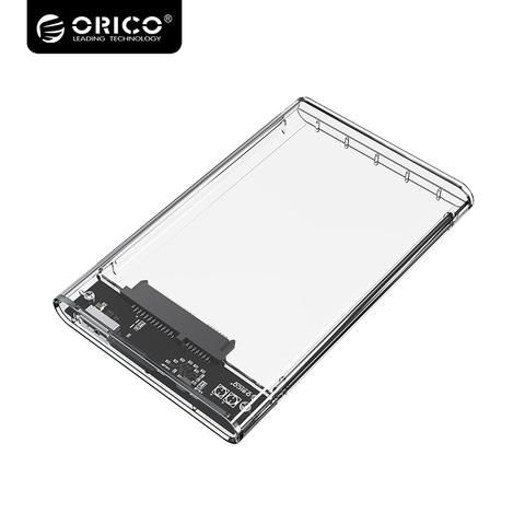 [EBay] Orico Super Speed Usb3.0 Hard Drive Enclosure 2.5 Inch Transparent Sata To Usb3.0 Hard Drive Enclosure Support 2Tb Drive 2139U3