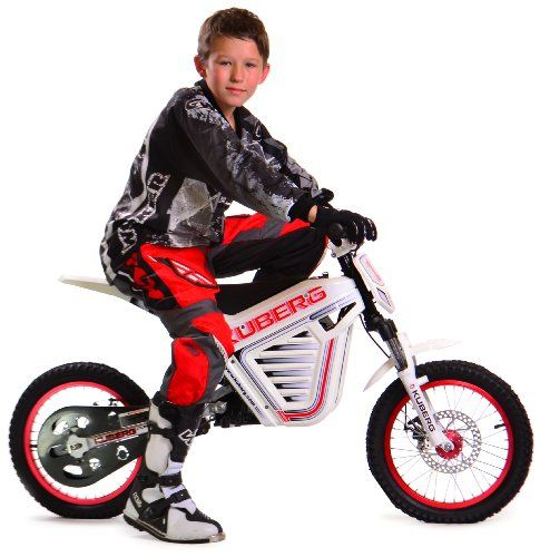 Kuberg Cross Electric Offroad Motocross Bike, 23-Inch' Electric BMX bike for riders between five and 12 years of age; heavy-duty design and rugged construction supports up to 220 pounds