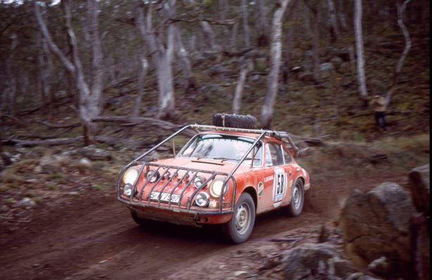1968 London - Sydney Marathon, Porsche 911, Sobieslaw Zasada