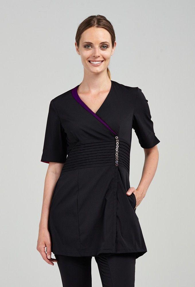 Amazing uniforms sofia classy yet classic pinterest for White spa uniform uk