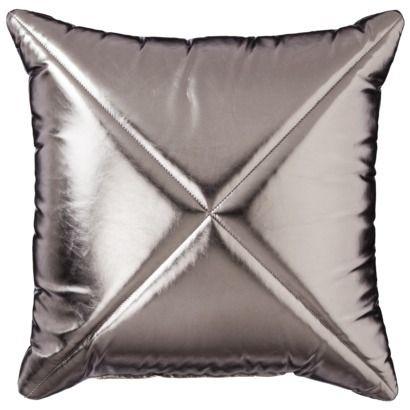 Xhilaration rivet decorative pillow m y w o r k Xhilaration home decor
