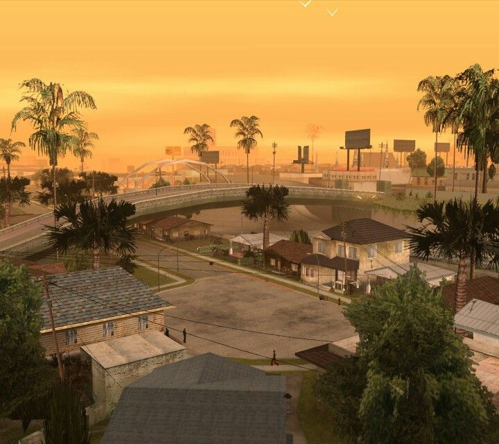 GTA San Andreas screensaver