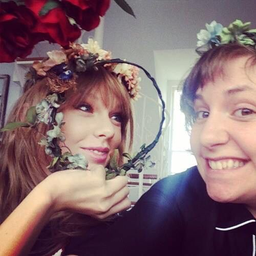 Taylor Swift and Lena Durham
