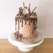 Image result for birthday chocolate drip cake