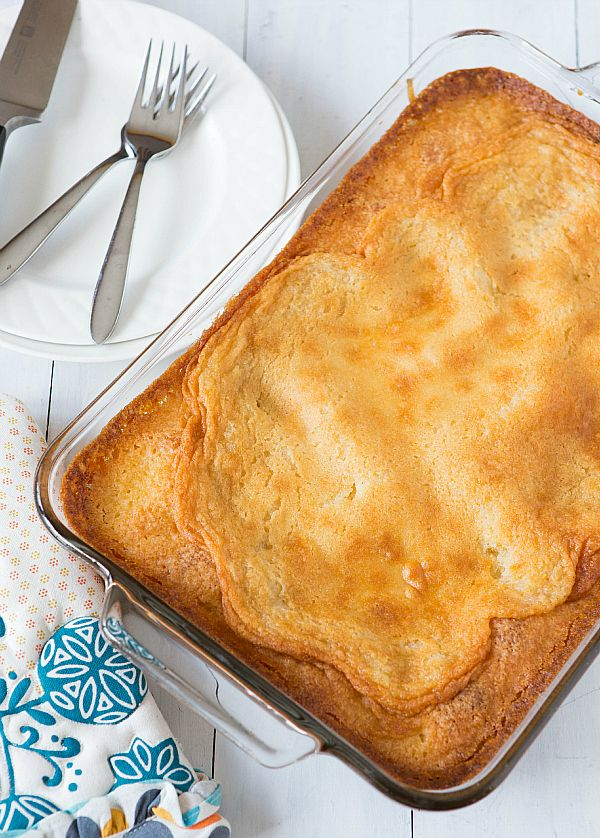 Gooey Butter Cake Recipe (From Scratch)   Brown Eyed Baker /www.browneyedbaker.com/2013/02/18/homemade-gooey-butter-cake-recipe/
