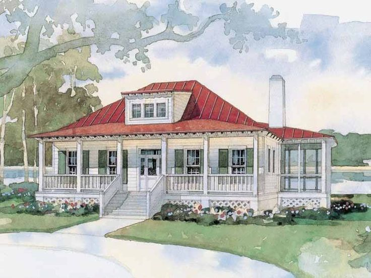Eplans cottage house plan bermuda bluff cottage from the for Country living house plans