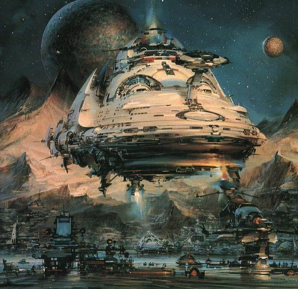 10 Cool Sci Fi Retro Artworks: 168 Best 70s Sci-Fi Art Images On Pinterest