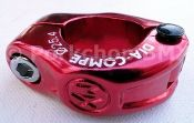 """Dia-Compe MX hinged BMX seat clamp - 25.4mm (1"""""""") RED"""