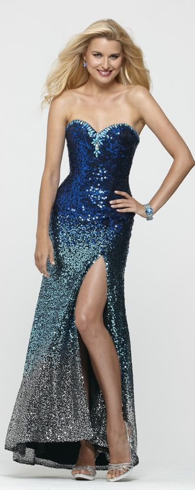 Clarisse Ombre #Prom #Dress