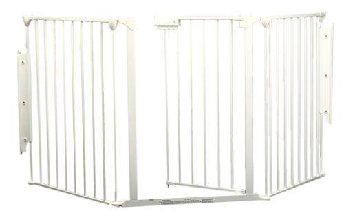 Custom Fit KidCo Configure Gate - White - http://www.thepuppy.org/custom-fit-kidco-configure-gate-white/