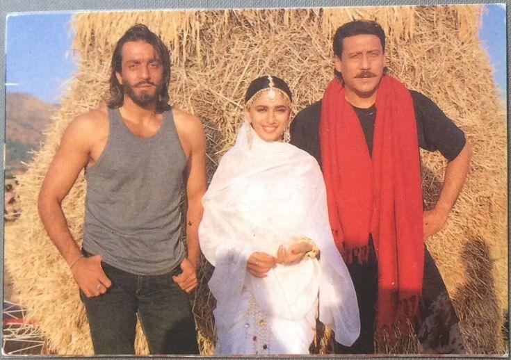 Sanjay dutt Madhuri jackie shroff | Bollywood stars ...