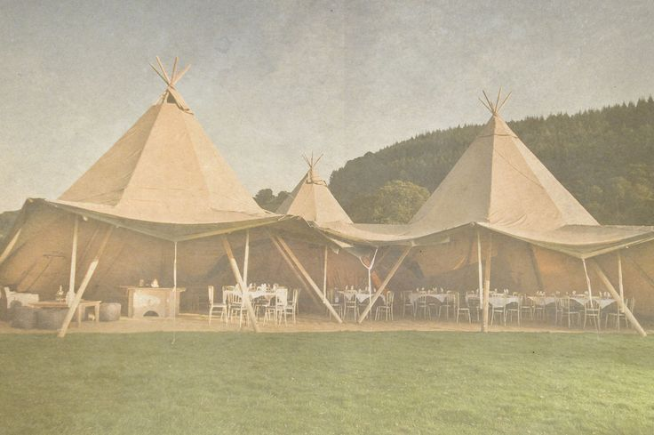 Tipi Hire Chester & Cheshire | Event in a Tent