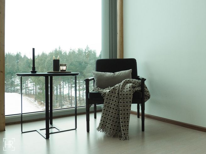 Laini side table styling nordic winter