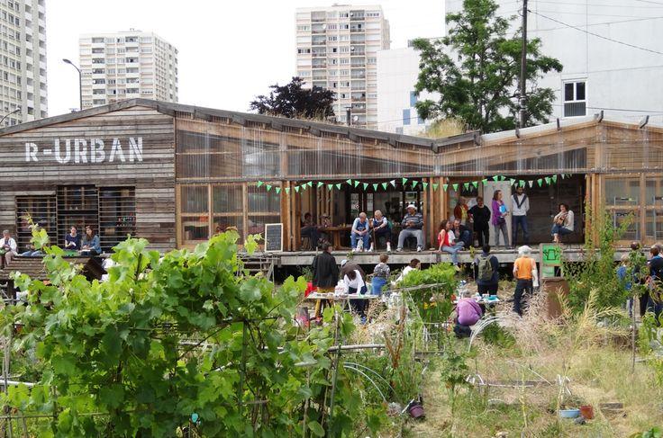 Unité d'agriculture urbaine et citoyenne – Colombes, Ile-de-France. AgroCité –…