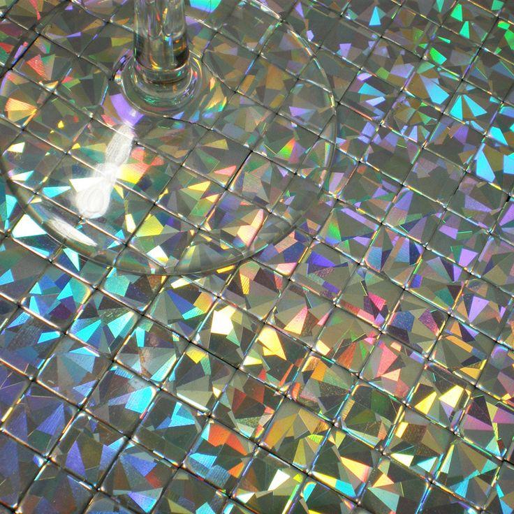 mosaics tile iridescent aluminum plate mirror adhesive wall stickers kitchen backsplash tiles bathroom mirror walls decorative