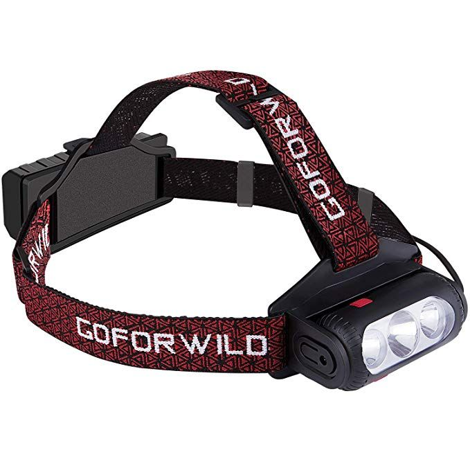Goforwild Headlamp Brightest Led Work Headlight 18650 Usb Rechargeable Waterproof Flashlight With Work L Camping Lights Rechargeable Headlamp Usb Rechargeable