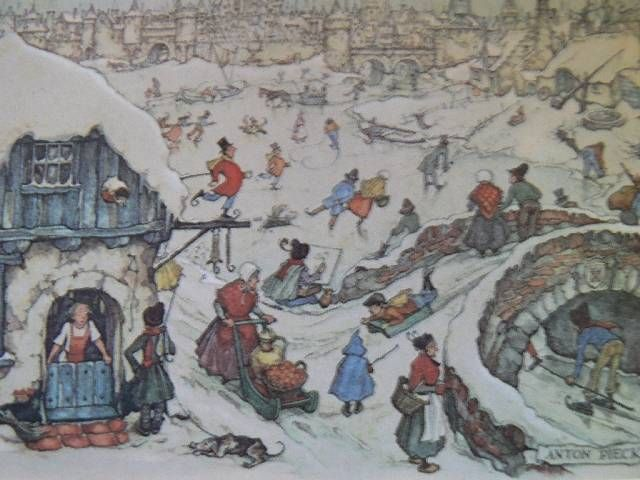 anton pieck kerst afbeeldingen - Google zoeken