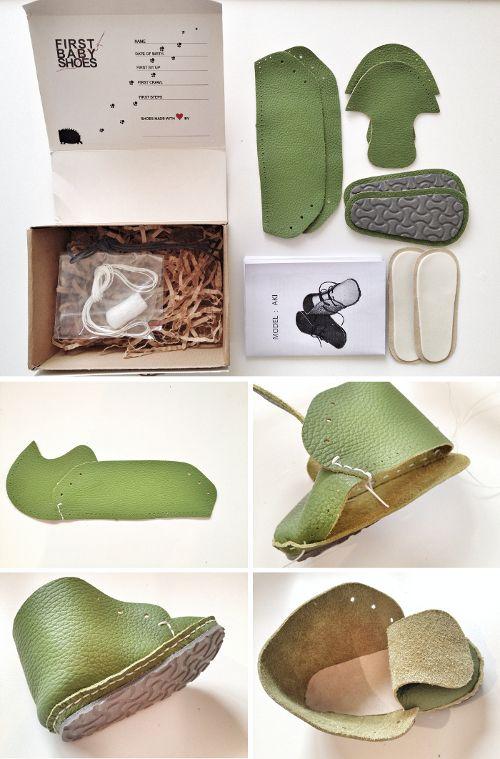 Haga su propio par de zapatos de bebé «Babyccino niños: consejos diarios, productos para niños, ideas de manualidades, recetas y más
