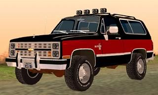 Chevrolet Blazer K5 Stock 1986 para GTA San Andreas